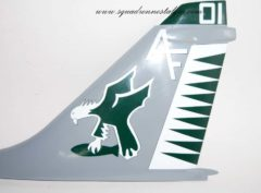 VA-205 Green Falcons Tail