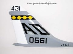 VA-174 Hellrazors A-7 Tail