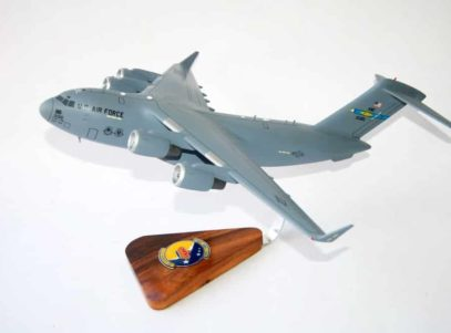 3rd Airlift Squadron C-17a Model