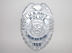 Navy MP Badge (New Orleans)