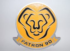 VP-90 Lions Plaque