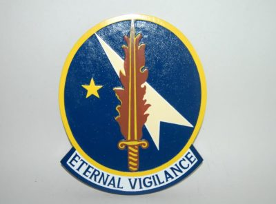 379th Combat Defense Force Plaque