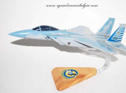 48th Fighter Squadron Alley Cats F-15 model