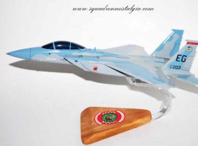 60th Fighter Squadron F-15 Model