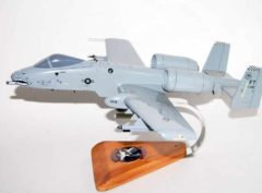 75th Fighter Squadron Tiger Sharks A-10 Warthog Model