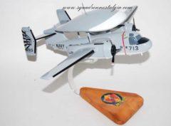 VAW-121 Blue Tails E-1B Model