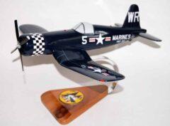 VMF-312 Checkerboards F4U Corsair Model