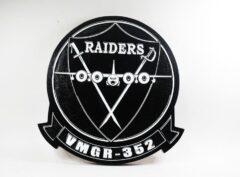 VMGR-352 Raiders Plaque