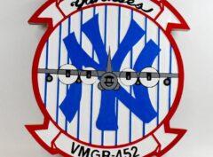 VMGR-452 Yankees Plaque