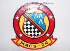 MACS-24 Plaque