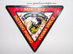 MATSG-42 Plaque
