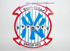 VMGR-452 Yankees Plaque