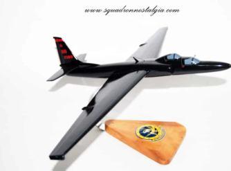 1st Reconnaissance Squadron 1 RS U-2 Model