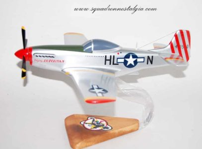 308th Fighter Squadron P-51 Mustang Model