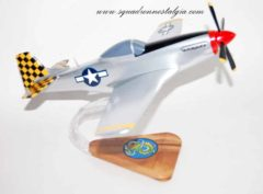 318th Fighter Squadron P-51 Mustang Model