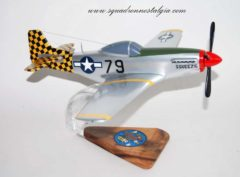 319th Fighter Squadron P-51 Mustang Model