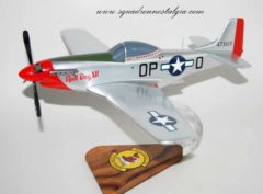 334th Fighter Squadron P-51 Mustang Model