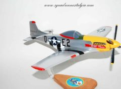 375th Fighter Squadron P-51 Mustang Model