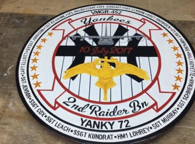 Yanky 72 Memorial Plaque