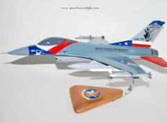 182nd Fighter Squadron F-16C Model