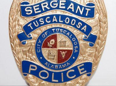 Tuscaloosa Police Dept Sergeant Badge