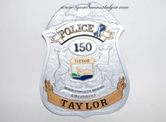 Taylor Police Dept Badge