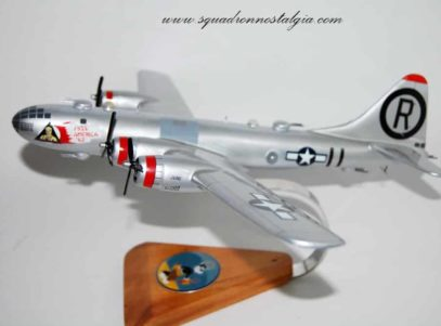 24th Bomb Squadron B-29 Model