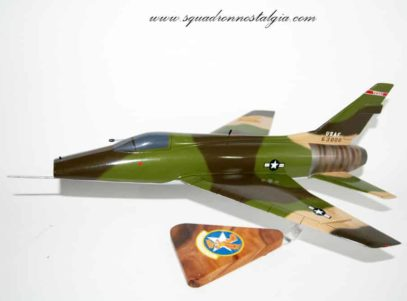 182nd Fighter Squadron F-100 Model