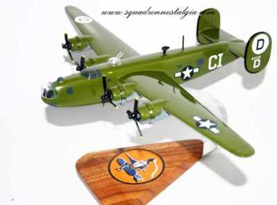 576th Bombing Squadron B-24 Model