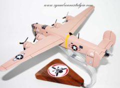 512th Bomb Squadron B-24 Model
