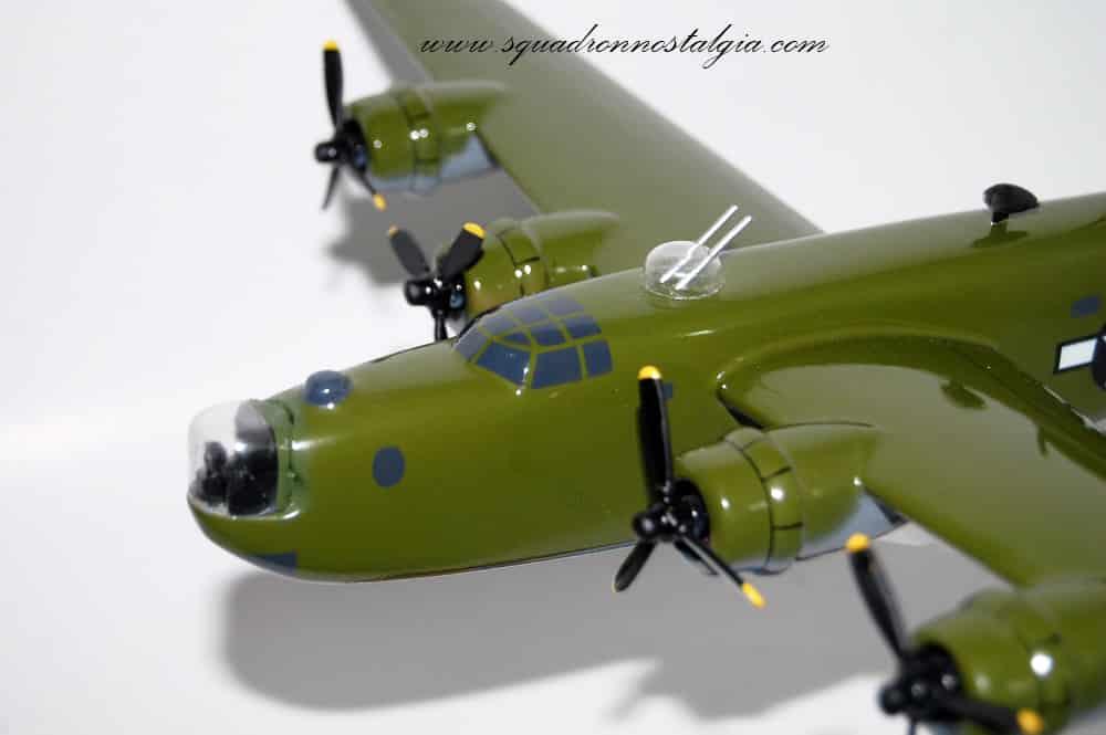 701st BS 'Hell's Warrior' B-24 Model