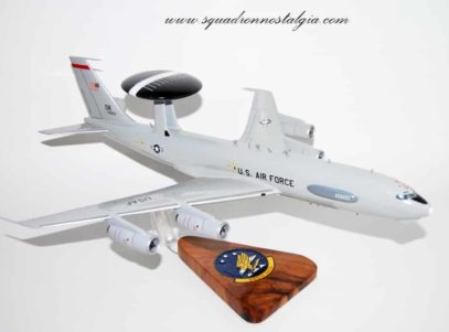 965th Airborne Air Control Squadron E-3 Sentry