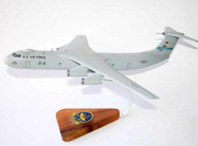 57th Airlift Squadron C-141B Model