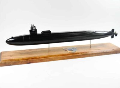SSGN-727 USS Michigan Submarine Model (Black Hull)