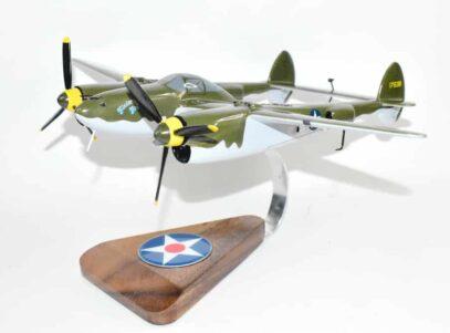 Glacier Girl P-38 Lightning Model