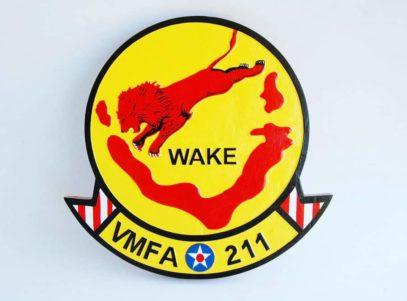 VMFA-211 Wake Island Avengers Plaque