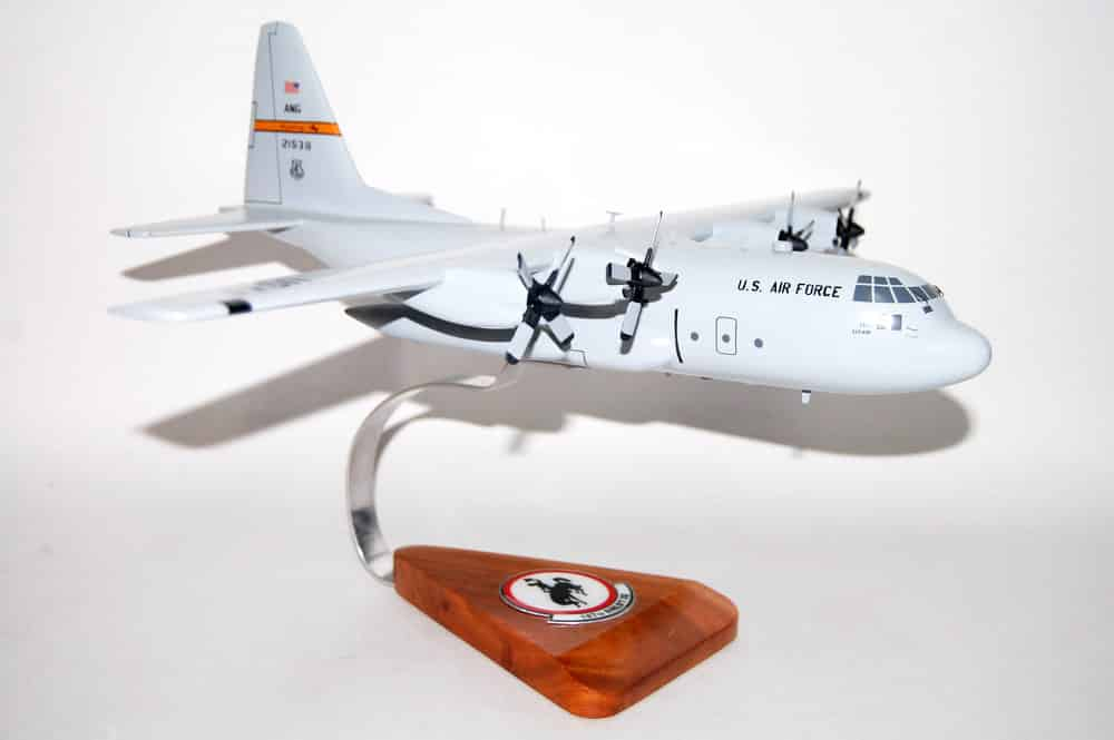 187th Airlift Squadron C-130H Model