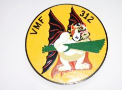 VMF-312 Checkerboards Plaque
