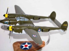 Glacier Girl P-38 Lightning Model