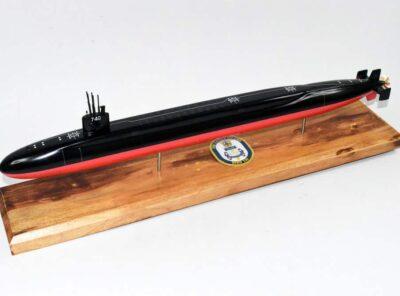USS Rhode Island SSBN-740 Submarine Model