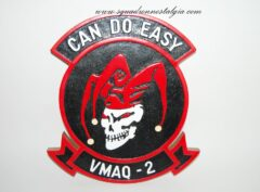 VMAQ-2 Death Jesters Plaque
