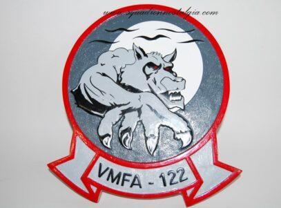 VMFA-122 Werewolves Plaque