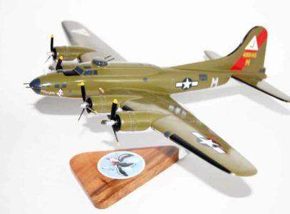 511th Bomb Squadron B-17G Model