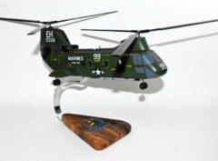 HMM-264 Black Knights (1980s) CH-46 Model