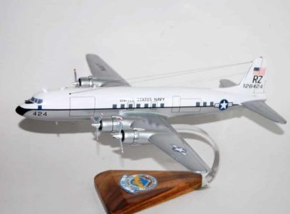 VR-21 Fleet Tactical Support Pineapple Airlines C-118 (424) Model