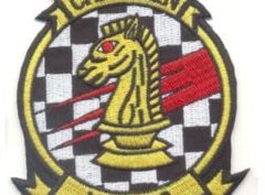 VSF-3 Chessmen Squadron Patch – Plastic Backing