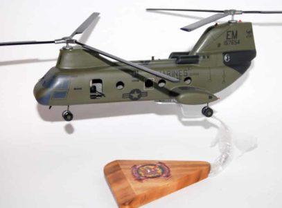 HMM-261 Raging Bulls CH-46 (157654) Model