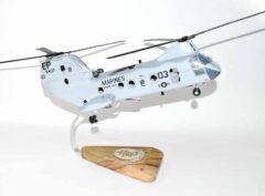 HMM-265 Dragons CH-46 (6437) Model