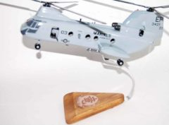 HMM-265 Dragons CH-46 (6437) Model