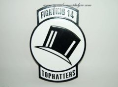 VF-14 Tophatters Plaque